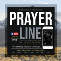 Prayer Pos Instagram template