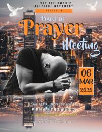 Prayer Meeting Flyer