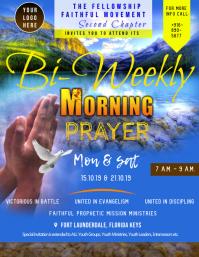 Church Prayer Flyer