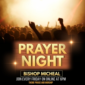 Prayer night,Good Friday,Church