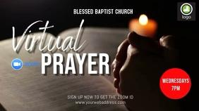 Prayer Online Affichage numérique (16:9) template