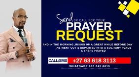 Prayer requests Ekran reklamowy (16:9) template