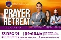prayer retreat Etiket template