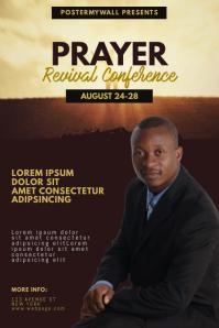 Prayer Revival Conference Flyer Template