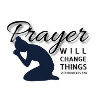 Prayer T-shirt design 4 Logotyp template