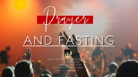 PRAYER WEEK TEMPLATE Digitale display (16:9)