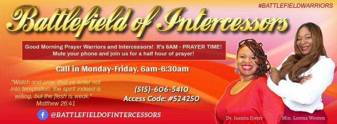 Prayerline Facebook Cover template