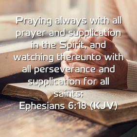 Praying Always Design
