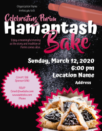 Pre purim hamantash Bake