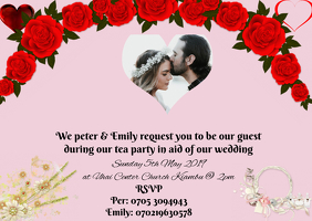 PRE- WEDDING PARTY Postal template