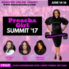 Preacha Girl Summit