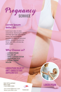 Pregnancy Flyer Template