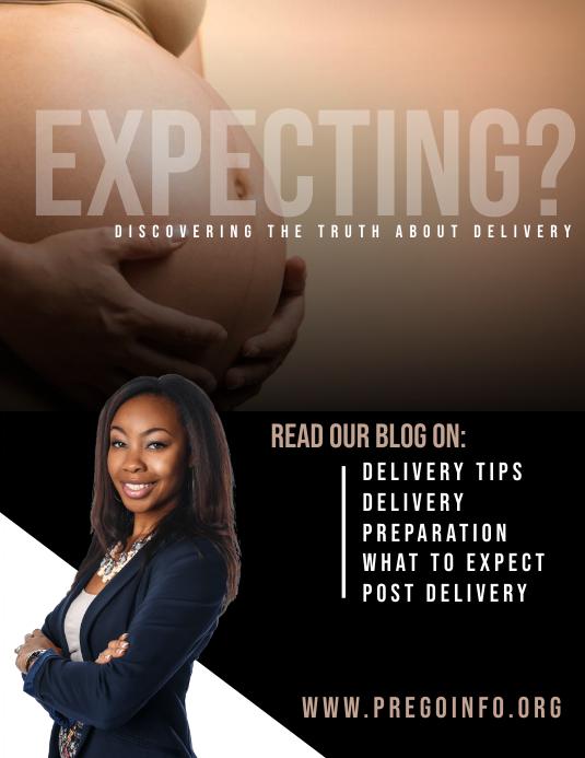 Pregnancy Info Flyer