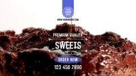 Premium Cakes & Desserts Digitalanzeige (16:9) template
