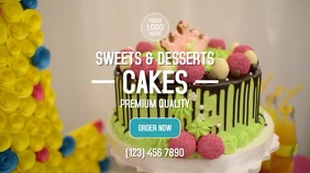 Premium Cakes Digital Display (16:9) template