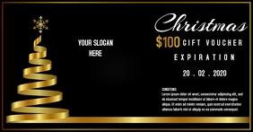 Premium Christmas Gift voucher template