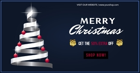 Premium Christmas sale banner template