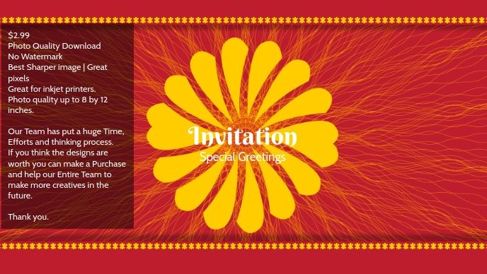 Premium Invitation & greeting card