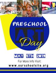 Preschool Art Day