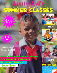 Preschool Classes Flyer