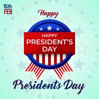 President's day ,, Instagram Plasing template
