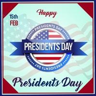 President's day ,/-, Publicação no Instagram template