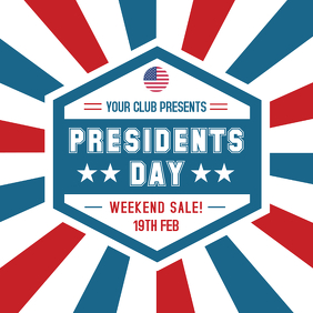 President's Day Big Sale Advert Online