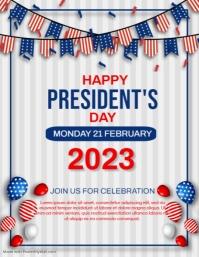 President's day Pamflet (VSA Brief) template