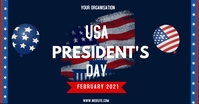 president's day flyers Facebook Shared Image template