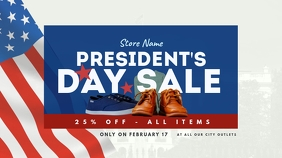 President's Day Sale Twitter Post