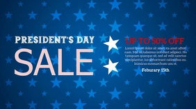 President's Sale Pantalla Digital (16:9) template