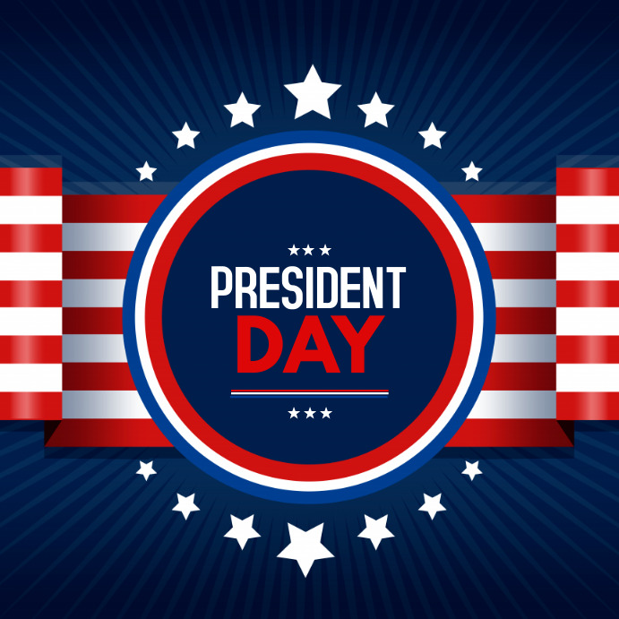 president day,memorial day 4th of july Instagram-Beitrag template