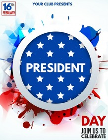 President day flyers