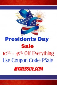 President Day Sale Event Template