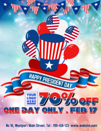 President Day Sale Template