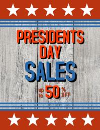 President Day sales flyer