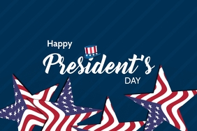 President day template