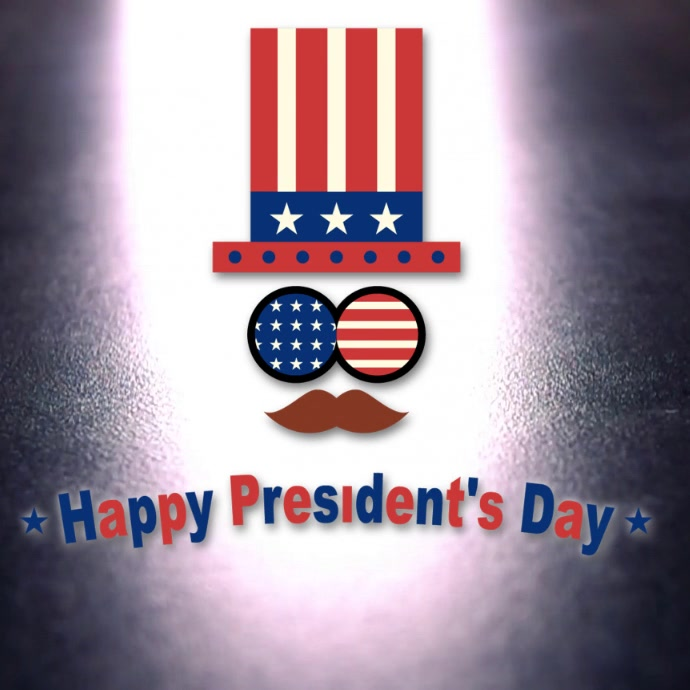 President Day Video Template
