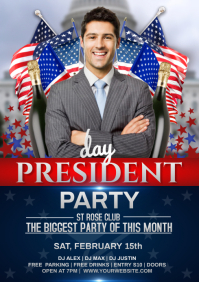 PRESIDENT PARTY A4 template