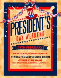 President's Day Flyer