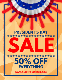 President's Day Sale Flyer