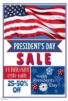 President's Day Sale Video