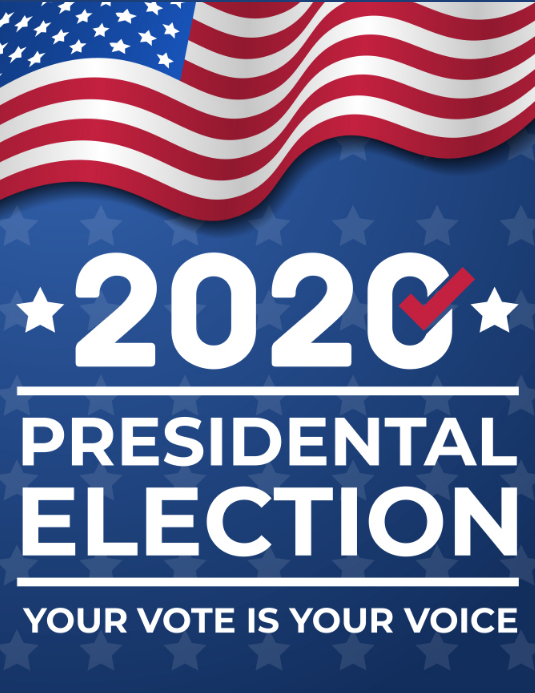Presidential Election 2020 Template Postermywall
