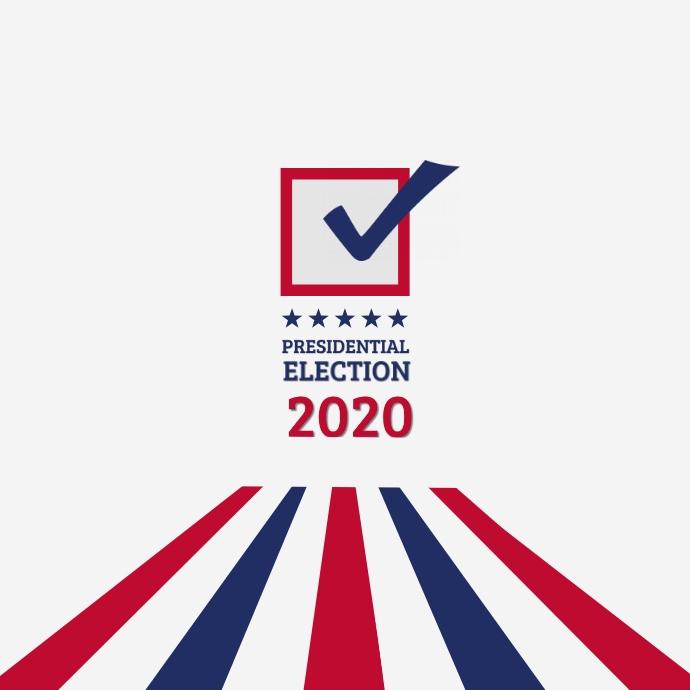 Presidential Election Logo template
