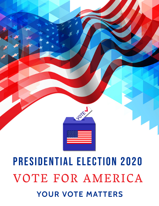 Presidential Elections American Elections Template Postermywall