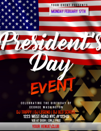 presidents day DAY EVENT FLYER
