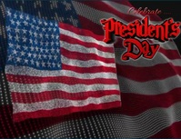 presidents day Flyer (format US Letter) template