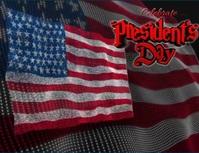 presidents day Folder (US Letter) template