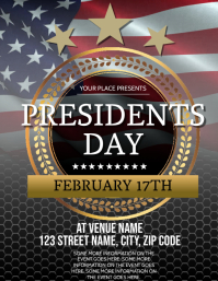 Presidents day event Flyer Template