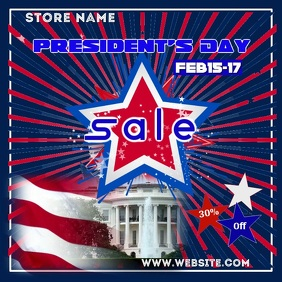 Presidents Day Sale Digital Ad